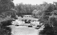 Aysgarth, Upper Force c.1960