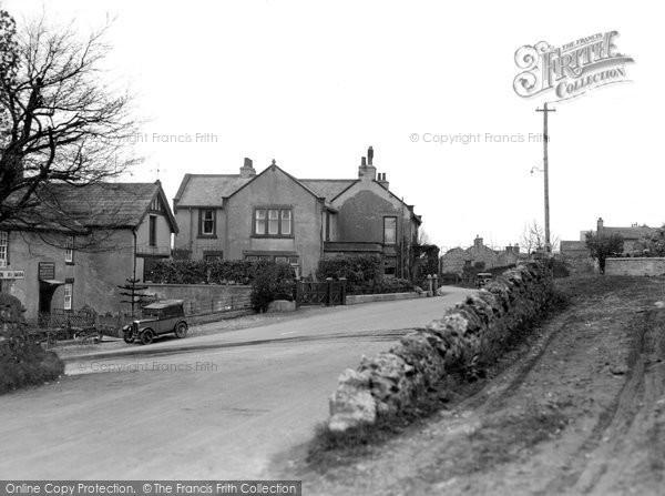 Aysgarth, Village From West c.1935