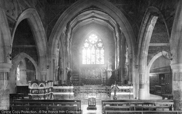 Babbacombe, All Saints Church, Choir East 1889