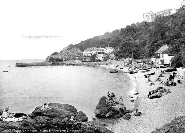 Babbacombe, Beach 1924