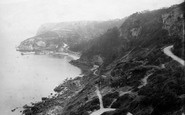 Babbacombe, Cliffs And Beach 1894
