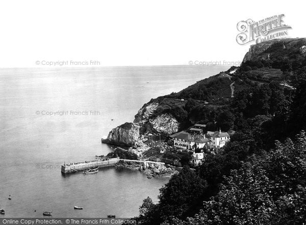 Babbacombe, The Bay 1924