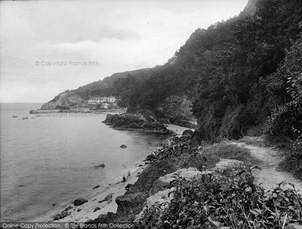 Babbacombe, The Beach 1924
