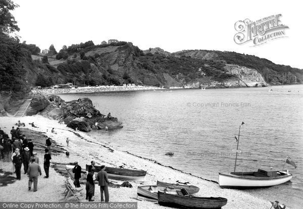 Babbacombe, The Beach c.1950