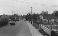 Backwell, Dark Lane c.1960