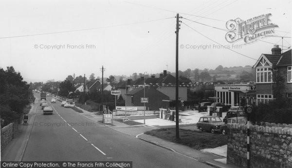 Backwell, Main Road c.1965