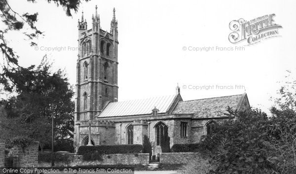 Backwell, St Andrew's Church c.1955