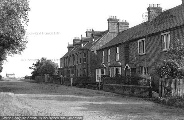 Bacton, Kimberley Road c.1965