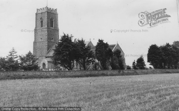 Bacton, St Andrew's Church c.1955