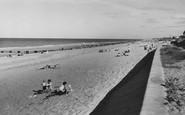 Bacton, The Beach c.1955
