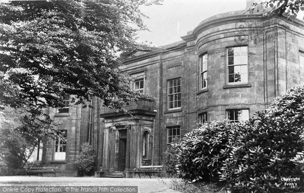 Bacup, Stubbylee Hall c.1955