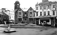 Bacup, The Fountain, St James's Square c.1955