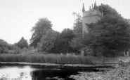 Badger, Church And Pond c.1965