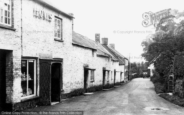 Bagborough, The Village c.1955