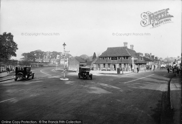 Bagshot, By Pass Road 1928