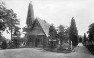 Bagshot, Cemetery 1906