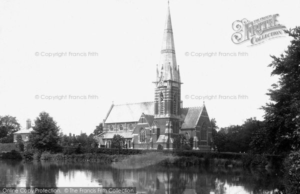 Bagshot, St Anne's Church 1901