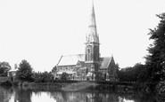 Bagshot, St Anne's Church 1901