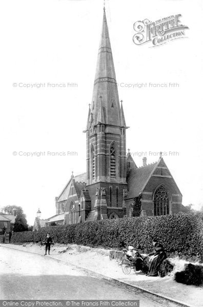 Bagshot, St Anne's Church 1903