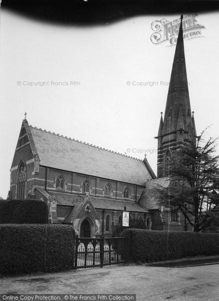 Bagshot, St Anne's Church c.1950
