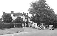 Bagshot, the Cricketers c1955