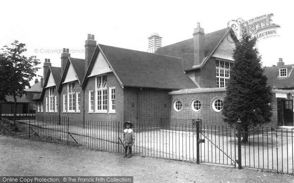 Bagshot, The School 1906