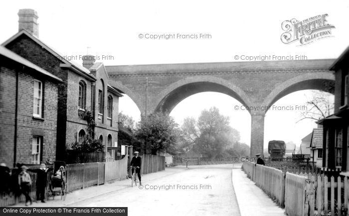 Bagshot, The Viaduct 1906