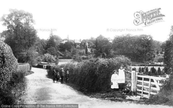 Bagshot, Village Children 1903