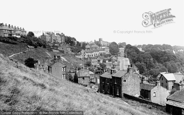 Baildon, From The Bank c.1960