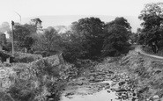 Bainbridge, Cravenholme From Bridge c.1960