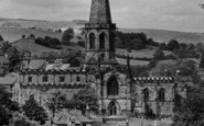 Bakewell, All Saints Church c.1955