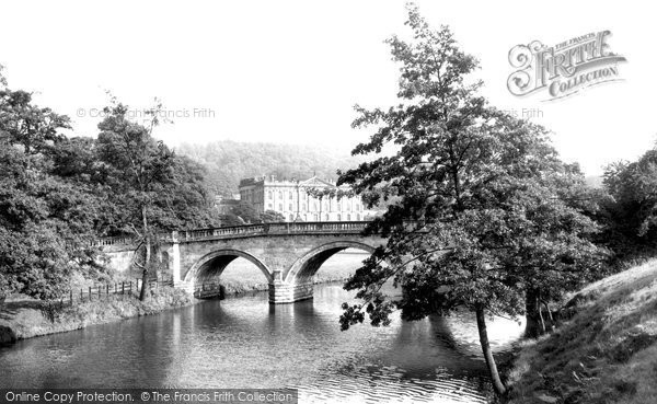 Bakewell, Chatsworth House c.1955