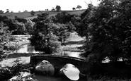Bakewell, Dorothy Vernon's Bridge c.1955