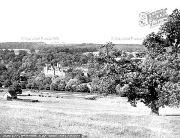 Bakewell, Haddon Hall c.1955