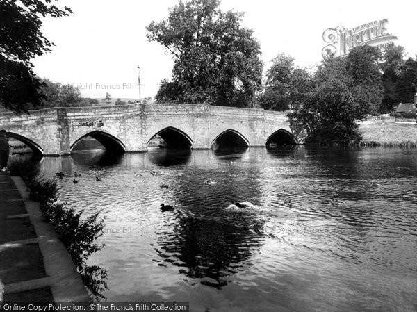 Bakewell, The Bridge c.1955