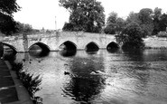 Bakewell, The Bridge c.1955
