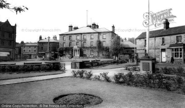 Bakewell, The Gardens c.1955