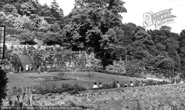 Bakewell, The Gardens, Haddon c.1955