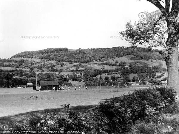 Bakewell, The Recreation Ground c.1955
