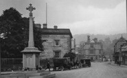 Bakewell, Vehicles In Rutland Square 1923