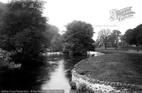 Bakewell, View From Holme Bridge 1914