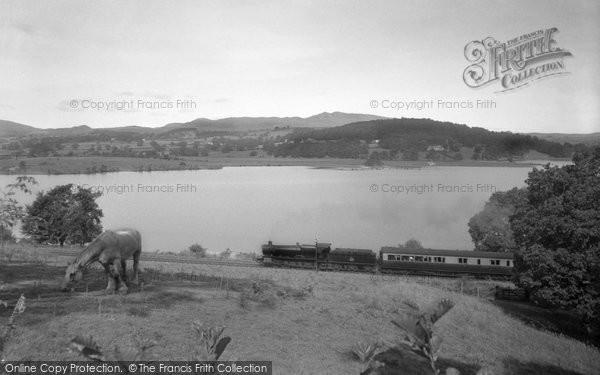 Bala, Bala Lake c.1955