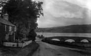 Bala, Bridge And Lake 1931