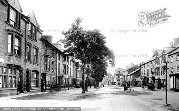 Bala, High Street 1896