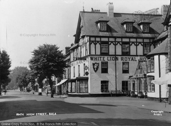 Bala, High Street 1935