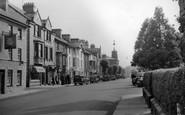 Bala, High Street 1957