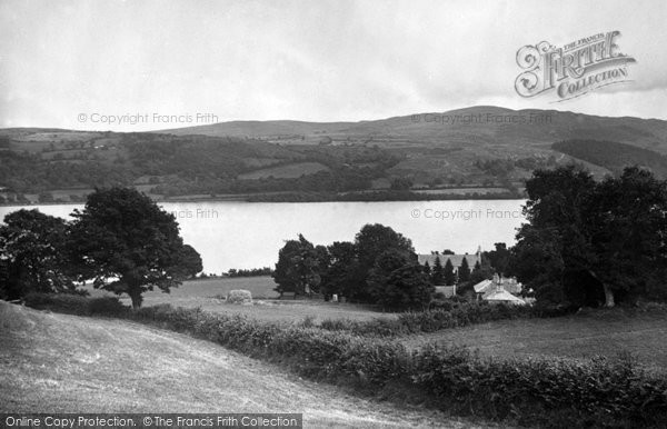 Bala, Lake And Llanycil Church 1931
