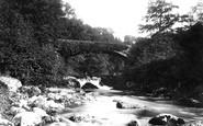 Bala, Llanywchllyn Bridge 1888