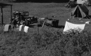 Bala, Loch Cafe Camping Ground 1954