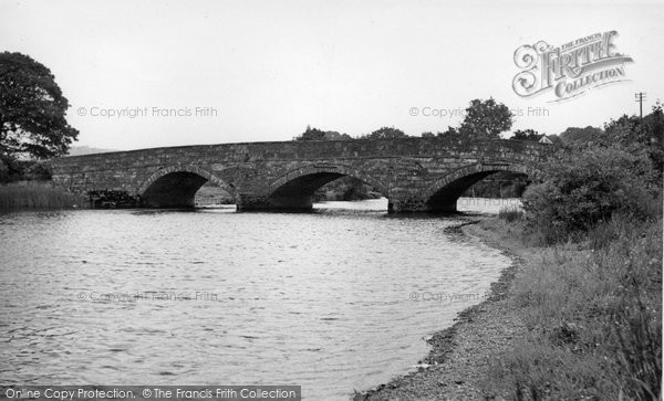 Bala, The Dee Bridge c.1955